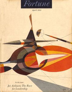 #Fortune magazine illustration, 1953, S Neil #Fujita