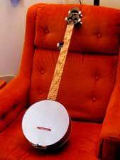 the whole cookie tin banjo