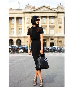 Paris street fashion -classic by whimsy