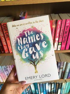 I'm posting this here because this beautiful book has some of the most gorgeous quotes I've ever read in it. You can read my review & see the best of those here: http://explorationofcreation.blogspot.co.uk/2017/07/a-review-emery-lords-names-they-gave-us.html