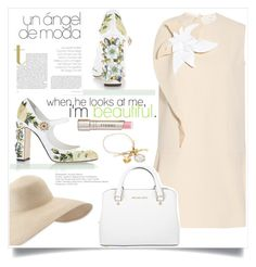 """""""Sweet Mary Janes"""" by judysingley-polyvore ❤ liked on Polyvore featuring Dolce&Gabbana, Delpozo, Eric Javits, Michael Kors, By Terry and maryjanes"""