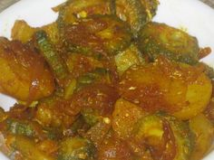Don't think about ignoring this article because you think Karela or bitter gourd cannot taste good in any combination. Bitter gourd can play a role in the preve Diabetic Recipes, Indian Food Recipes, Healthy Recipes, Ethnic Recipes, Flat Pan, Bitter Melon, Chaat Masala, Just Cooking, Recipe For 4