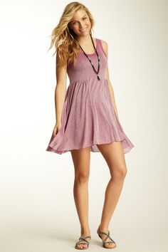 To look hot in a dress like this...