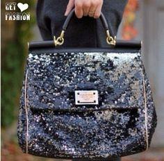 Sparkles are my favorite sparkle handbag
