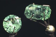 Beryl, Menzies, Wester Australia, Australia Beryl is a typical mineral of pegmatites, although some hydrothermal deposits contain gem-quality beryl crystals. Emerald, the green variety, is coloured by small amounts of chromium. Beryl is the main ore mineral of the light, strong metal beryllium, used in the aerospace industry. Source: Museum Victoria