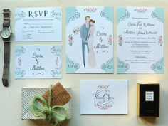 The Special Relationship, Custom Wedding Invitations