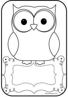 and White Owl Clip Art Image - white owl with a black outline Owl Theme Classroom, Classroom Projects, Classroom Teacher, Kindergarten Classroom, Classroom Ideas, Black And White Owl, Clipart Black And White, Owl Outline, Owl Clip Art