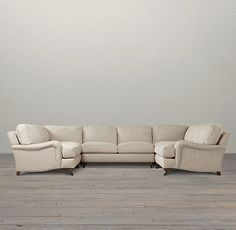 English Roll Arm Sectionals | Restoration Hardware