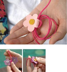 The *Daisy Earphone Organizer* is a very cute and well made earphone organizer! To use: open the daisy and wind your wires around the middle part of the daisy then close it with the button. You can also wrap the remaining parts of your earphone or. Felt Crafts, Diy And Crafts, Arts And Crafts, Sewing Crafts, Sewing Projects, Cord Organization, Ideias Diy, Leather Projects, Felt Art