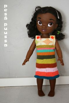 a dress for our Disney Animator doll