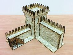 28mm modular castle kit review Warhammer RPG