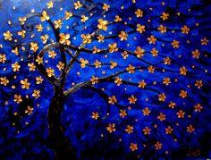 Golden Tree of Life via Etsy