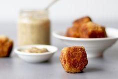 You searched for pompoen - Beaufood Vegetarian Meatballs, Lunch Snacks, Oven Baked, Krispie Treats, Cornbread, A Food, Tapas, Veggies, Appetizers