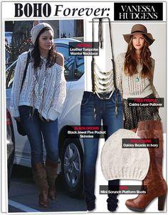 Vanessa Hudgens Style and Fashion