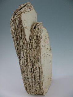 "Elizabeth Shriver, ""Rock Layer Vase with Double Opening"""