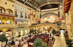 One of our featured destinations in September is Dubai, including the Mercato Mall. #dubai