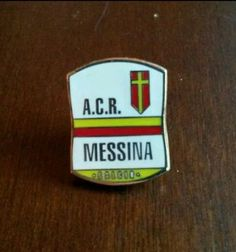 Spilla distintivo MESSINA calcio pin football badge