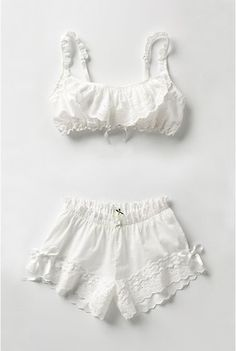 Super cute panty and bloomer set. =]