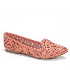 Sapato Slipper Feminino Capodarte 4005748 - Coral