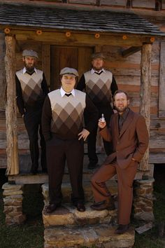 Non-tux attire for groomsmen