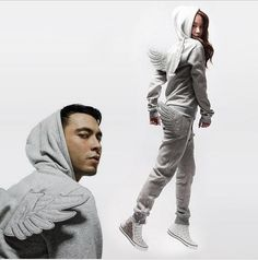 Kawaii Clothing   Chandal Alas / Wings Tracksuit WH233   Online Store Powered by Storenvy
