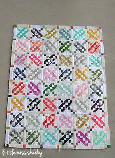 As part of my goal to finish up some WIP's, I broke out these blocks this week: These are quilt blocks from several years ago that I had made for me in a quilting bee. All the fabrics used a…