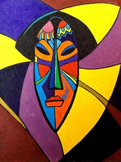 African Art | African Mask Drawing