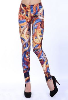 SEXY LADY GALAXY LEGGINGS PRINTED COSMIC SPACE PANTS TIE DYE TIGHTS NEW SUMMER FASHION CASUAL PORTRAIT SNAKE DRAGON MONSTER 3D DIGITAL PRINTING SEXY LEGGINGS FOR WOMEN