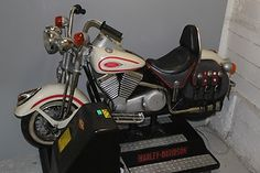 Harley-Davidson-Coin-Operated-Kiddie-Ride-Great-Condition-Mechanical ...