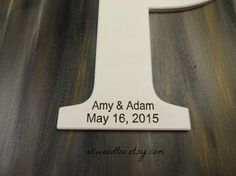 Personalized Wedding Signs Wedding Signs Engraved by AllWoodToo