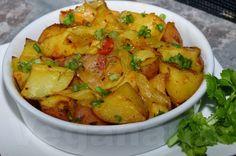 Batata Assada com Molho de Tomates Caseiro - Veganana