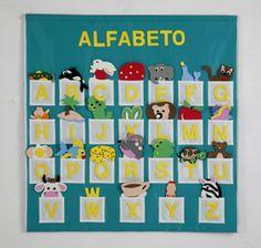 painel para letras do alfabeto - Pesquisa Google