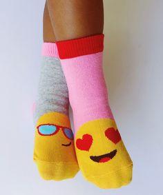 Buy Jefferies Socks Girls Emoji Crew Socks 6 Pair Pack and many other girls socks. Socks for everyone, we are your one stop sock shop. Girl Emoji, Ladies Underwear, Footless Tights, Emoji Faces, Sock Shop, Trendy Girl, Girls Socks, Fashion Socks, Bubblegum Pink