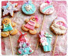 galletas pastel navidad