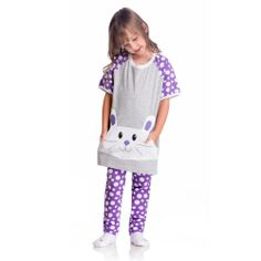 Pijama Lupo infantil - Coelhinho - 22002-001