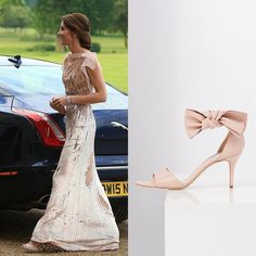 """L.K.Bennett on Twitter: """"HRH The Duchess of Cambridge wore the Agata sandals while attending a charity event"""