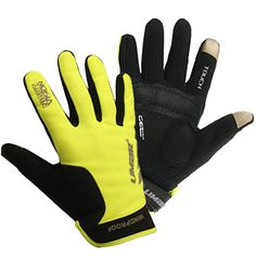 Designed to keep the riders hands warm during the cold months, the Limar Pro Series X6 is a full fingered Winter cycling glove. It comes in a high visibility 'night vision' fluro yellow colour and is windproof and water resistant as well to save your hands from icy wind blasts. Get this now at Ivanhoe Cycles.