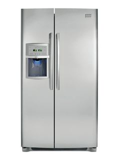 frigidaire professional side by side refrigerator model fpus2698lf