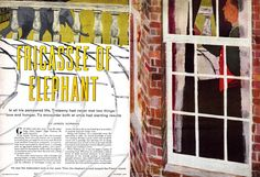 Cosmopolitan magazine Illustrated by Robert Weaver October 1954