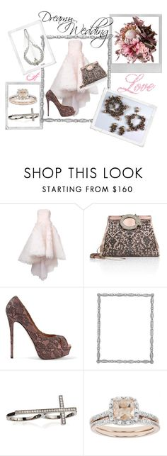 """""""Dreamy Wedding"""" by whittywoman77 ❤ liked on Polyvore featuring Mikael D, Valentino, Guide London, Polaroid, Frontgate, Sydney Evan, Modern Bride and Louis Rousselet"""