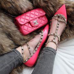 Chanel bag, Valentino shoes l Doll Memories