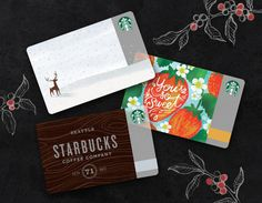 A Starbucks Card is a convenient way to pay for purchases. Plus you'll earn stars toward rewards every time you pay using your reloaded Card.