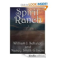 Spirit Ranch  This is my mom's new book.  Check it out!