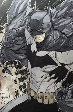 Batman by Tony Daniels