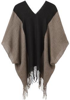 A Détacher / Babette Poncho Abaya Fashion, Diy Fashion, Retro Fashion, Ideias Fashion, Fashion Outfits, Fashion Design, Cape Designs, Tunic Designs, Sewing Clothes