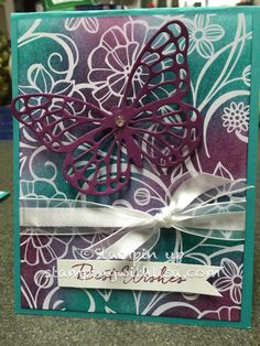 Irresistibly Floral Designer Series Paper is Gorgeous! | Stamping With Lisa | Bloglovin'