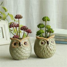 Best value Owl Vase Planter – Great deals on Owl Vase Planter from global Owl . - Best value Owl Vase Planter – Great deals on Owl Vase Planter from global Owl Vase Planter seller - Planters For Shade, Fall Planters, Diy Planters, Ceramic Planters, Planter Pots, Planter Ideas, Ceramic Owl, Ceramic Pottery, Pottery Art