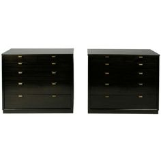 Pair of Edward Wormley Drexel chests | 1stdibs.com
