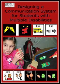 Guidelines for using the preferred learning medium to design a communication system for students with multiple disabilities and visual impairments Multiple Disabilities, Learning Disabilities, Learning Environments, Speech Language Therapy, Speech And Language, Speech Therapy, Occupational Therapy, Media Communication, Effective Communication