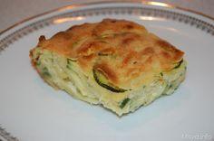 La zucchini pie è una ricetta che preparava mia mamma quando ero piccola, ricordo che ogni volta che voleva preparare la zucchini pie impazziva per reperire la